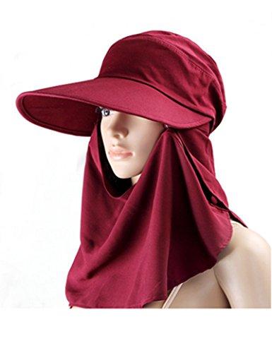 signora estate grandi gronda cappello di Sun Protezione solare berretto Adottare un cappello all'aperto pieghevole Anti-UV berretto ( colore : 2 )
