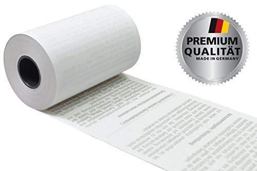EC Thermorollen SEPA Lastschrifttext 57mm x 9m x 12mm [ØRolle 30mm]