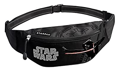 Star Wars, Sac banane ville multicolore noir