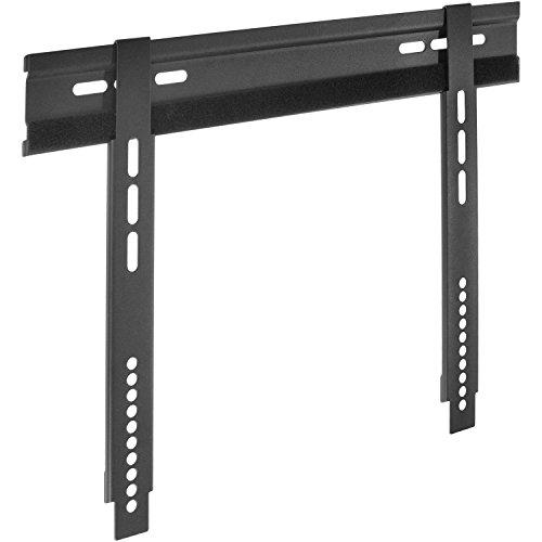 DUR-line WHTV 05 S - Ultraflacher TV-Wandhalter nur 8mm - universell für 23-32 Zoll TVs - VESA 400x200 [Wandhalterung Plasma LCD LED Wandhalter für Fernseher]