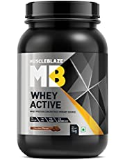 MuscleBlaze Whey Active Protein Supplement Powder (Chocolat