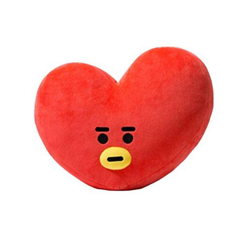 Kingmia BTS Bangtan Boys BTS Kissen BTS Pillow Cute Cartoon Plüsch Puppe Dekokissen Kissen BTS Jimin Geschenk für a.r.m.y BTS Perfekt für Sofa Wohnkultur 45cm*55cm BTS Tata(H06) -
