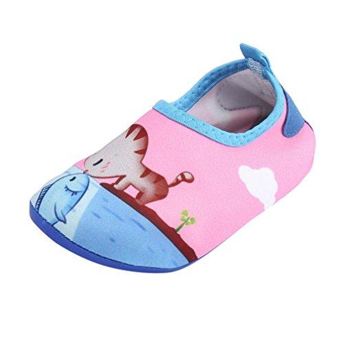 (Hirolan Kinderschuhe Babyschuhe Prewalker Jungen Lauflernschuhe Mädchen Wels Strand Schnorchel Socken Schwimmen Tauchen Neugeborenen Schuhe Freizeitschuhe)