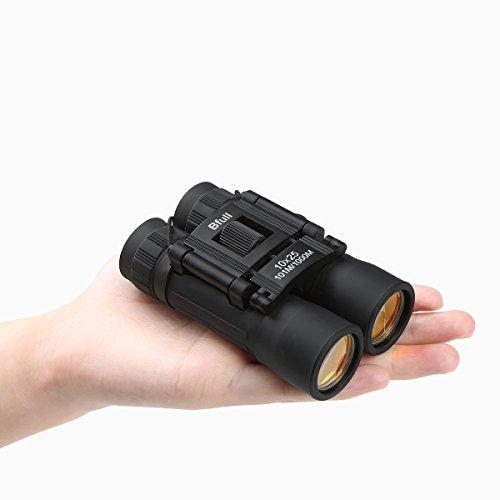 Bfull Mini Fernglas kompakt Falten wasserdicht Ferngläser 10x25 Teleskop Fernglas für kinder Vogelbeobachtung, Sport, Geschenk Wandern,...