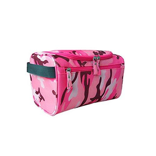 Borse Di Stoccaggio Portatili Impermeabili, Dxlta Oxford Oxford Organizer Bag Accessorio Per Il Bagno Rosso E Mimetico