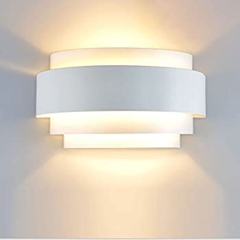 Modern LED Wall Light Sconce Up Down Wall Lights Wall Lamp E27 Perfect For  Living Room Hallway Bedroom Lamps , Warm White(Light Bulb Include)