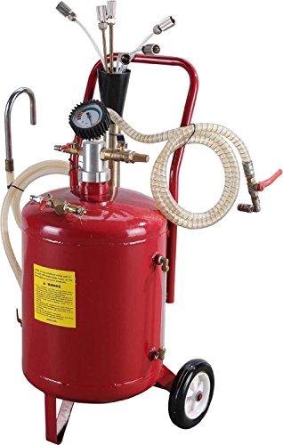 Pompa di aspirazione olio aspiratore serbatoio recupero esausto estrattore olio 22,7 Lt