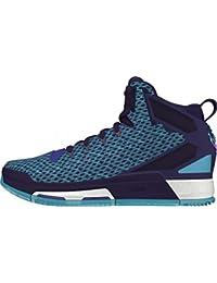 big sale d5f4b 14281 Adidas Derrick Rose 6 Boost Zapatillas de Baloncesto para niños  Lila Hellblau Talla 4