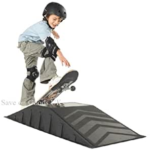 doppelte skater rampe sprungrampe f r kinder bmx rad. Black Bedroom Furniture Sets. Home Design Ideas