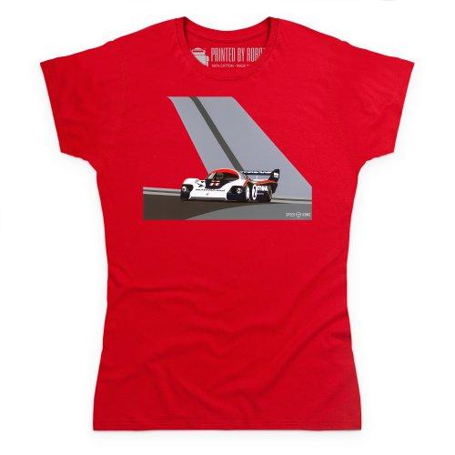 Speed Icons 956 LM T-Shirt, Damen Rot