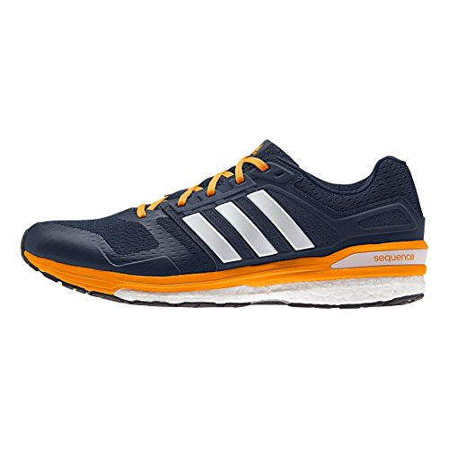 Adidas Herren Supernova Sequence Boost 8 Laufschuh Collegiate Navy/White/EQT Orange