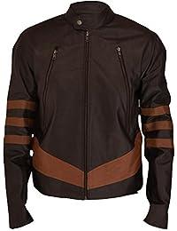 F&H Men's X-Men Origins Wolverine Genuine Leather Jacket