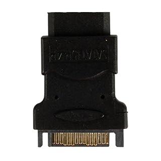 Valueline VLCP73900B SATA 15 Pin Male to Molex Female SATA 15 Pin Male to Molex Female Internal Power Adapter Cable - Black