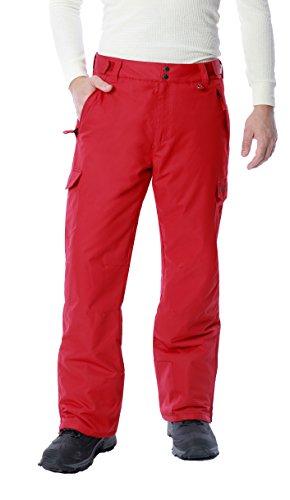 Arctix Herren Snow Sports Cargo Pants, Jungen Herren, Vintage Red