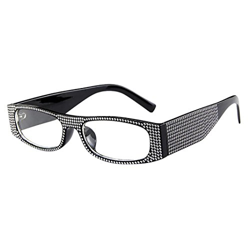 OdeJoy Frau ModeKleine Kiste Sonnenbrille Sportbrille Vintage Brille Wayfarer Brille...