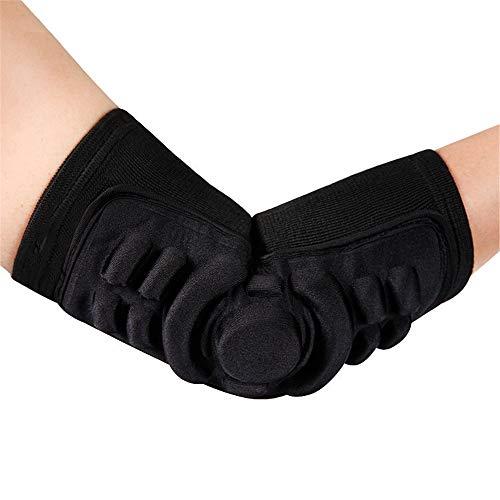 sfycstd Elastic Ellenbogenschoner Protector atmungsaktive Antikollision Bandage Ellenbogen Pad Sleeve Guard, Tennis, Football, Skate