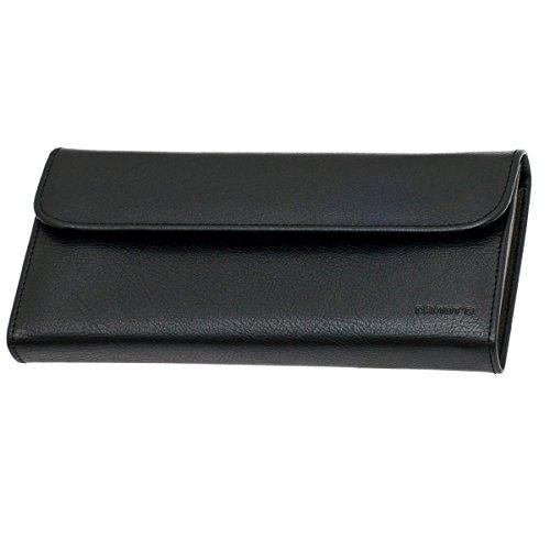Trousse à Bijoux Plate DAVIDT'S Euclide - Noir