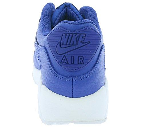 Nike Air Max 90 Ltr (Gs) Scarpe Sportive, Ragazzo multicolore (Game Blu reale/game bianco-royal)