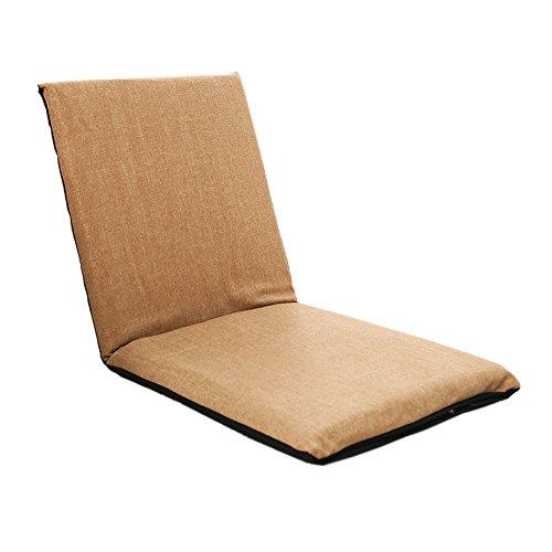 L-R-S-F Canapé paresseux, le lit peut être plié, le petit canapé simple, le fauteuil arrière de l'ordinateur de lit, le canapé-lit (Couleur : # 2, taille : 104 * 48 * 6cm)