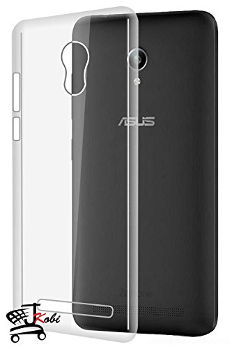 Jkobi(TM) Exclusive Soft Silicone TPU Jelly Crystal Clear Case Soft Back Case Cover For Asus Zenfone Go ZC500TG (5.0 INCH) -Transparent  available at amazon for Rs.145