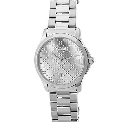 Reloj Gucci Hombre ya126459al cuarzo (batería) acero quandrante acero correa acero