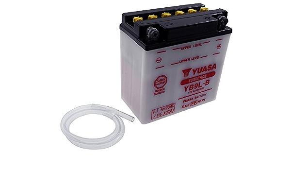 12v 9ah Yuasa Batterie Yb9l B 135 X 75 X 139 Mm Für Yamaha Sr 500 Auto