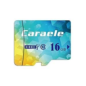 Caraele Speicherkarte Class10 UHS-I High Speed-Speicherkarte für Telefon, Tablet und PC (16GB)