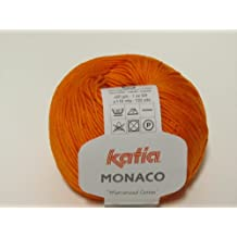 Katia Monaco, algodón mercerizado FB. 15(Naranja)