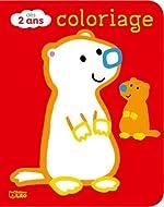 Coloriages pour les tout-petits - Les animaux de la montagne - Dès 2 ans de Carole Wey