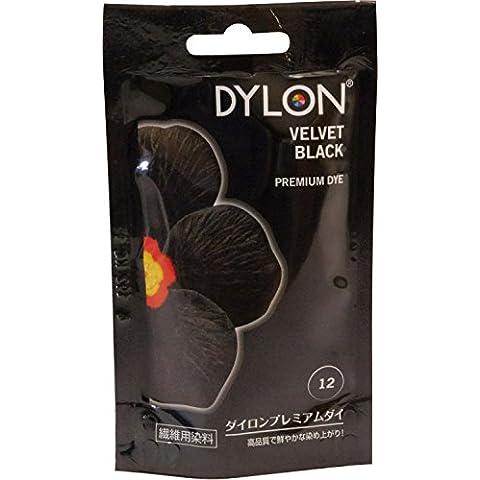 Dylon tinte a mano sobre (NVI) 12 terciopelo negro envío rápido
