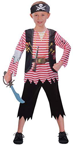 Kostüm Verkleidung Fasching Karneval Party - Pirat, S ()