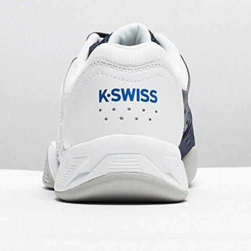 K-Swiss Big Shot Light 2.5 Carpet Tennisschuh Herren weiß / dunkelblau