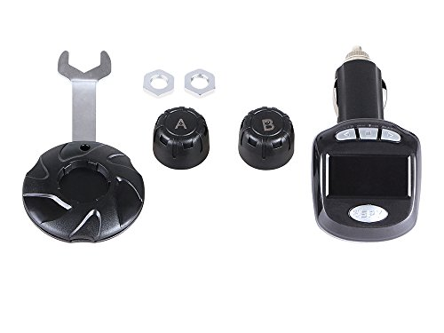 Pro User 16258 TPMS2 Reifendruckkontrollsystem für 2 Reifen bis zu 9 bar