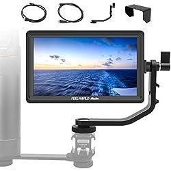 Feelworld Moniteur Camera 5.5 Pouces, Master MA6F 4K HDMI 1280x720 Rec.709 IPS Moniteur vidéo Externe Ecrans de visée pour Appareil Photo Sony Canon Nikon Panasonic