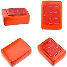 PlayOptic® Flotador BOYA Esponja Rojo + Adhesivo 3M para Camara Go Pro GoPro HD Hero5