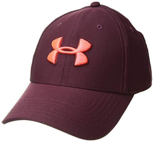 Under Armour Herren Blitzing 3.0 Cap Kappe, Dark Maroon/Radio Red, XL/XXL Radio-cap-baseball-cap