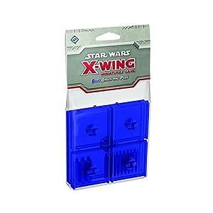 Star Wars X Wing 13846 SWX43 Paquete de expansión de Bases y Clavijas Azules