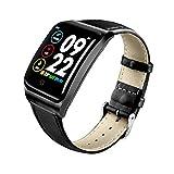 XNNDD wasserdichte Smartwatch Sport Smartwatch Verbesserte Präzision IP68 Schwimmen Bluetooth Fitness Herzfrequenz-Informationen