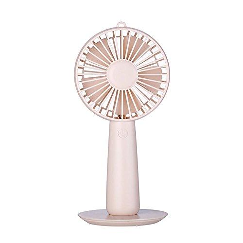 Preisvergleich Produktbild LEYIJU Mini-USB-Handventilator Effektive Luftkühler,  mit Kosmetikspiegel Funktion,  Dual-Use-Produkt,  Größe 9, 5 * 9 * 20Cm, Pink