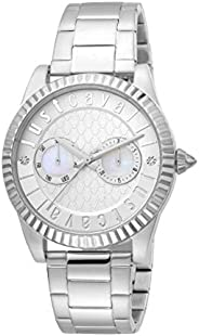 Just Cavalli XL Ladies Silver Dial Stainless Steel Analog Watch - JC1L134M0055