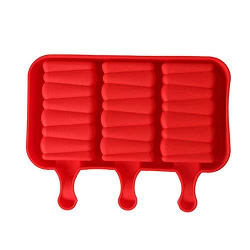 Fuß ovaler Form-Silikon-Eis-Creme, Schokolade, Kuchen am Stiel Mold DIY Küche Kühlschrank Eismaschine Mengonee