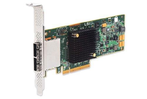 LSI Logic LSI00300 Host Bus Adapter (SGL 8-Port, PCIe 3.0, SAS 2.1)
