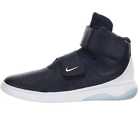Nike Herren Marxman Basketballschuhe, Schwarz Obsidian-Weiß-EIS, 44 EU -