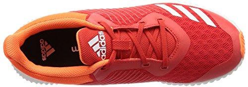 adidas Unisex-Kinder FortaRun K Gymnastikschuhe HIRERE/FTWWHT/HIREOR