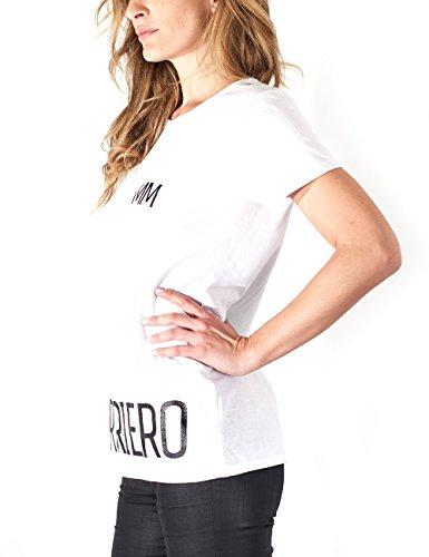 Marco Mengoni T-Shirt Guerriero, Maglietta Donna Bianco
