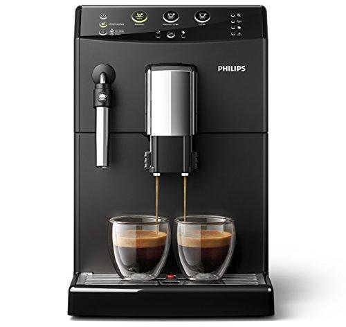Philips 3000 Serie HD8827/01 Kaffeevollautomat (1850 W, klassischer Milchaufschäumer) schwarz - 3