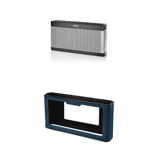 bose-soundlink-iii-enceinte-portable-argent-housse-bleu-marine
