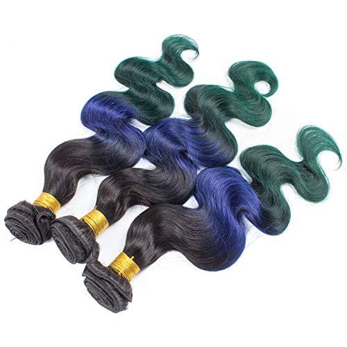 3 Stück Karosserie Welle Bündel Nicht Remy 100% menschlich Haar Erweiterungen Lange Blond Mensch Haarwebart 12-24 Zoll,24''