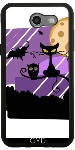 tArtists SilikonHülle für Samsung Galaxy J3 2017 (SM-J327) - Halloween Horror Fest - by WonderfulDreamPicture ()