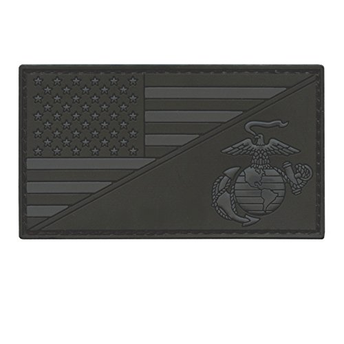 us-marines-all-black-usmc-usa-american-flagge-semper-fidelis-acu-dark-subdued-morale-pvc-gummi-touch